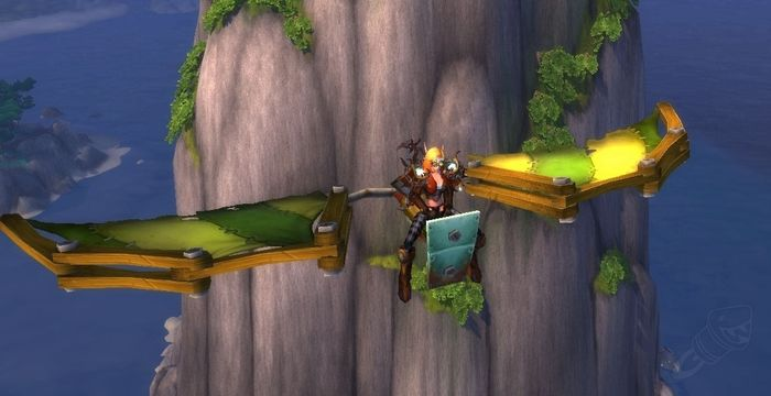 WoW Shadowlands Goblin Glider Kit leveling fast
