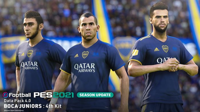 REMEMBER THE NAME - The Boca Juniors 4th kit celebrates the 20th anniversary of winning the world title