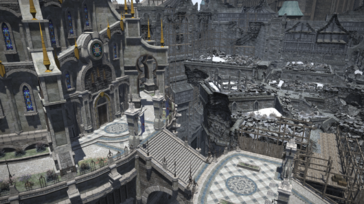 FF14 5.41 update Ishgardian Restoration