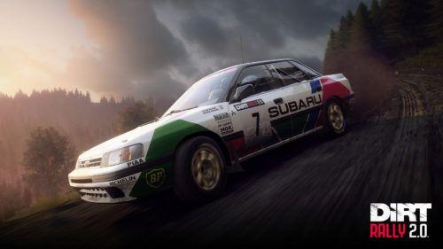 dirt rally 2.0 Subaru