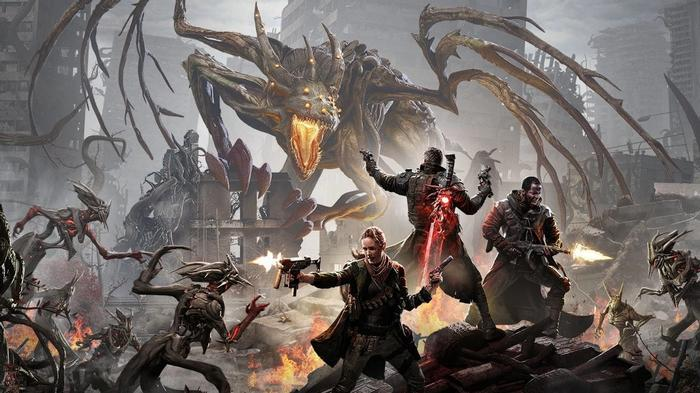 PS Plus March 2021 Remnant: From The Ashes Battle Art