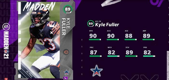 MUT 21 Team Standouts Kyle Fuller 2