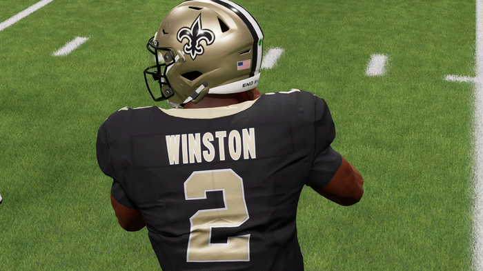 Jameis Winston in Madden 22