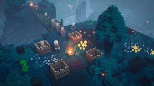 minecraft dungeons ps4 price