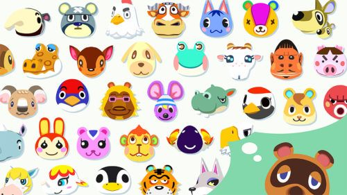 383 characters will be included in Animal Crossing New Horizons