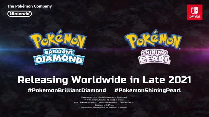 Pokemon Sinnoh Region Remakes Diamond and Pearl