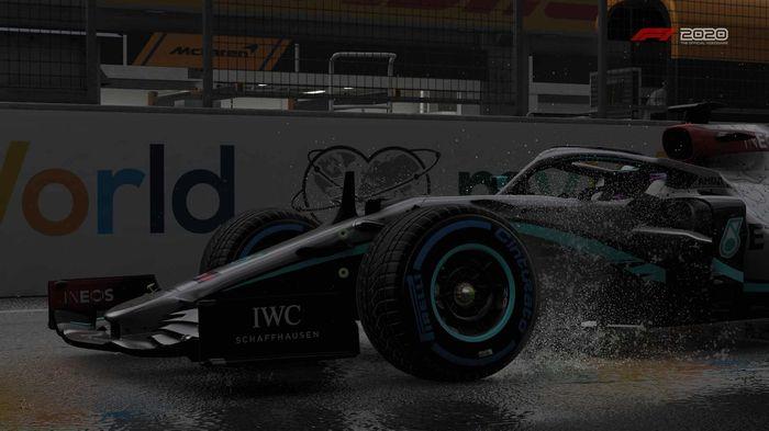 F1 2020 Austria Wet Merc