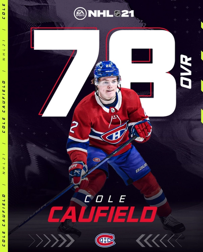 NHL 21 Cole Caufield Roster Update May 5