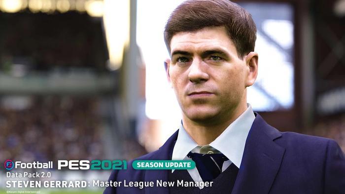 steven gerrard master league pes 2021 data pack 2