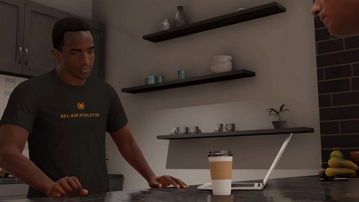 An image from MyCAREER in NBA 2K22