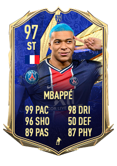 SURPRISE! Mbappe was selected ahead of the legendary Messi