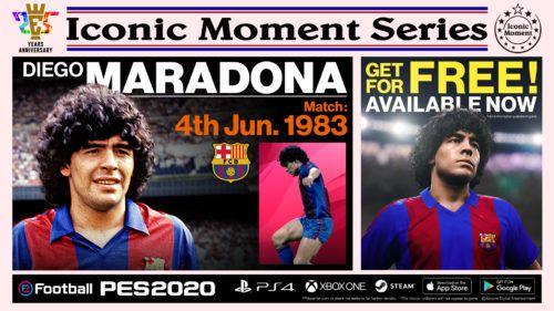 PES 2020 IconicMoment BAR MARADONA
