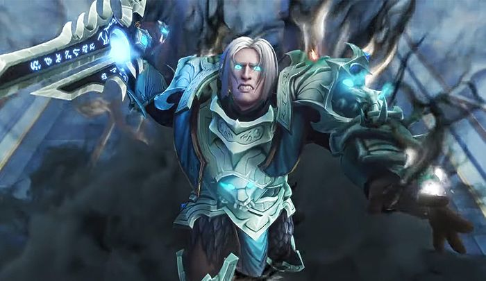WoW Shadowlands Anduin Wrynn Lich King 9.1 Chains of Domination Cinematic