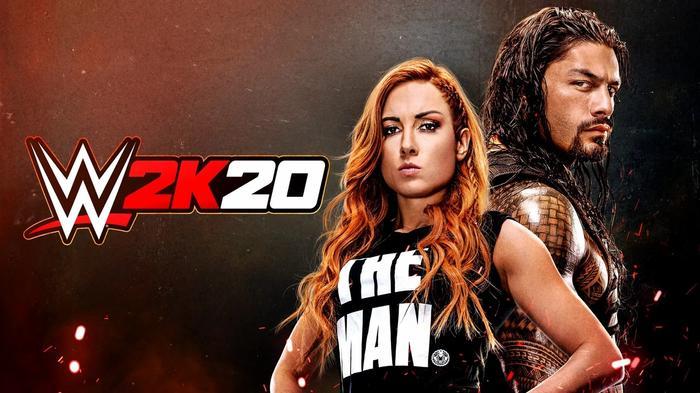 WWE 2K22 2K20 Cover Star
