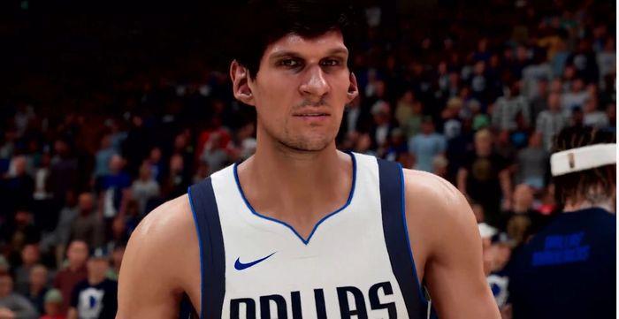 NBA 2K21 next gen gameplay reveal trailer Boban