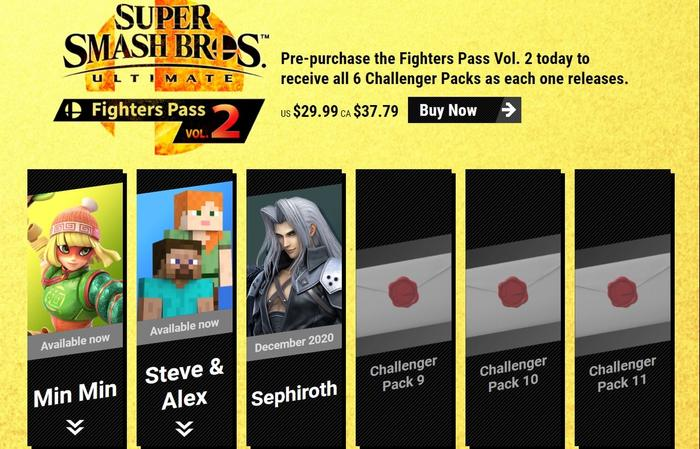 3 DOWN 3 TO GO: Sephiroth is the third and latest fighter to join the Fighters Pass Vol. 2.