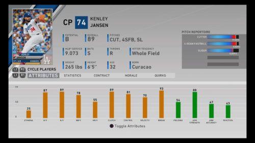 MLB The Show 20 Kenley Jansen Diamond Dynasty Closing Pitcher RTTS Franchise Mode