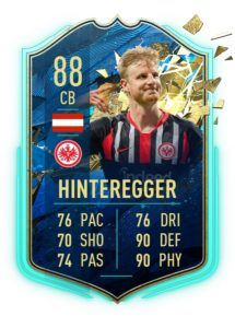 Hinteregger TOTS FIFA 20