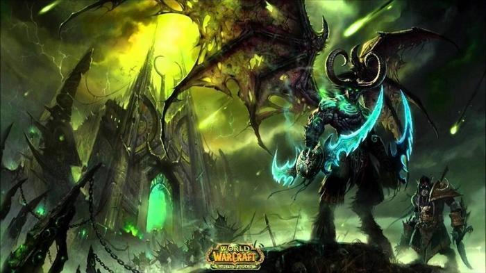 World of Warcraft Burning Crusade Key Art