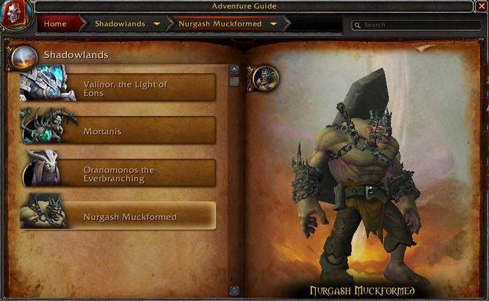 Shadowlands Nurgash Muckformed World Boss