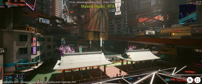 Cyberpunk 2077 Hidden RTX Cinematic Comparison 4