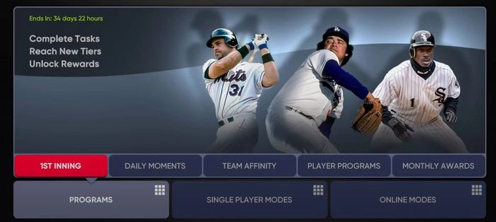 MLB The Show 21 Diamond Dynasty moments 1st inning team programs game modes