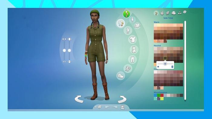 Sims 4 Skin Tones
