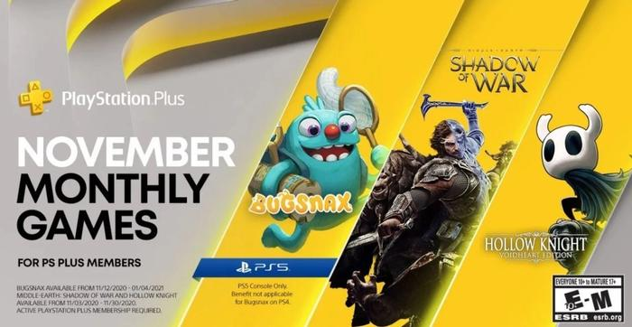 PS Plus PS5 Bugsnax
