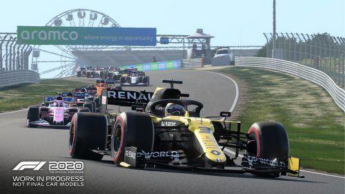 F1 2020 Suzuka screenshot Ricciardo Renault
