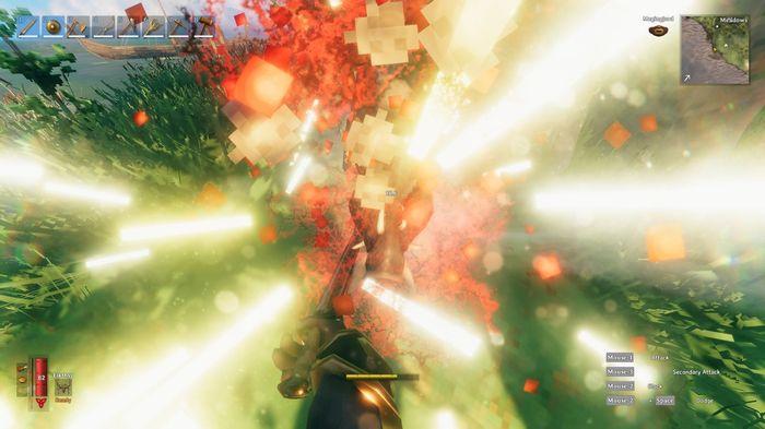 Valheim First Person Mod Mode Combat