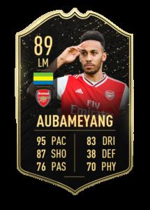Aubameyang totw 24 fifa 20 revealed