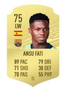 Fati FIFA 21