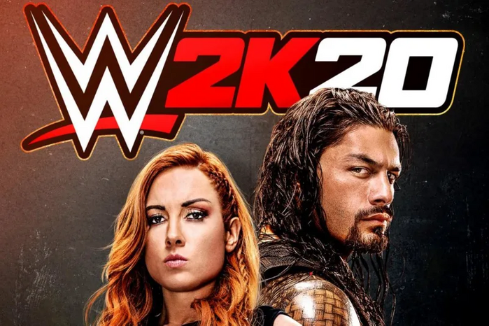 WWE 2K20 release and cover image