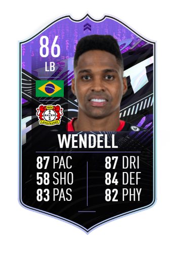 wendell fifa 21 what if