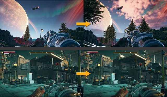 the outer worlds graphical improvements