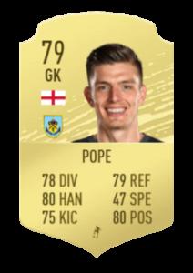 pope base card fut 1