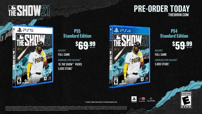 MLB The Show 21 price preorder editions