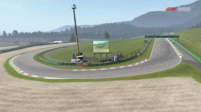 Austrian GP Turn 3 Schlossgold