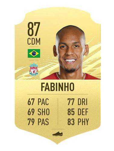 Fabinho FIFA 21
