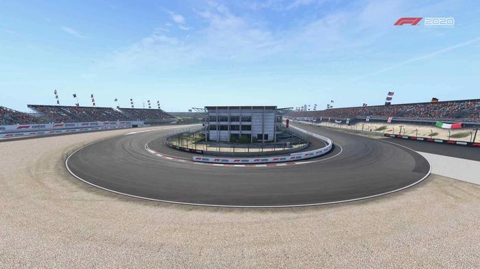 F1 2020 Zandvoort Turn 1 Y