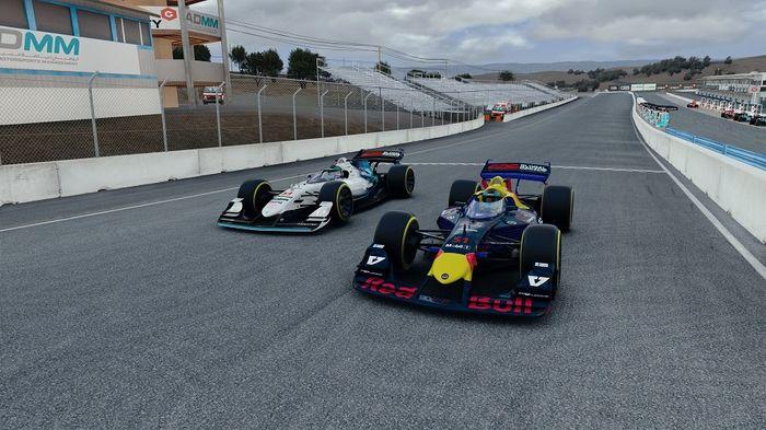 Red Bull Williams V10 R-League Round 5 Laguna Seca