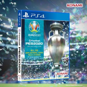 pes 2020 uefa 2020 ps4 cover