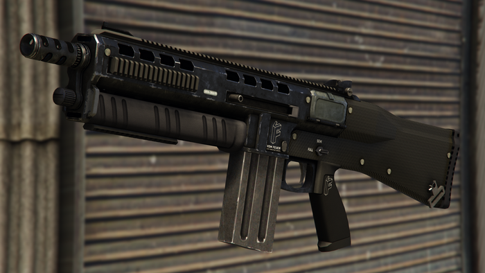 GTA Online Best Weapons Assault Shotgun