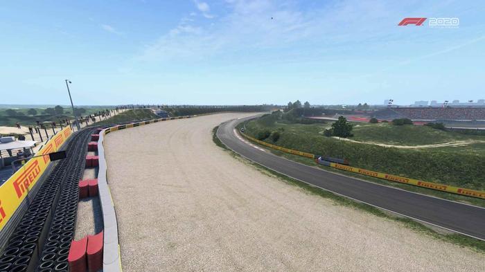 F1 2020 Zandvoort turn 6 Y