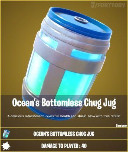 Oceans Bottomless Chug Jug
