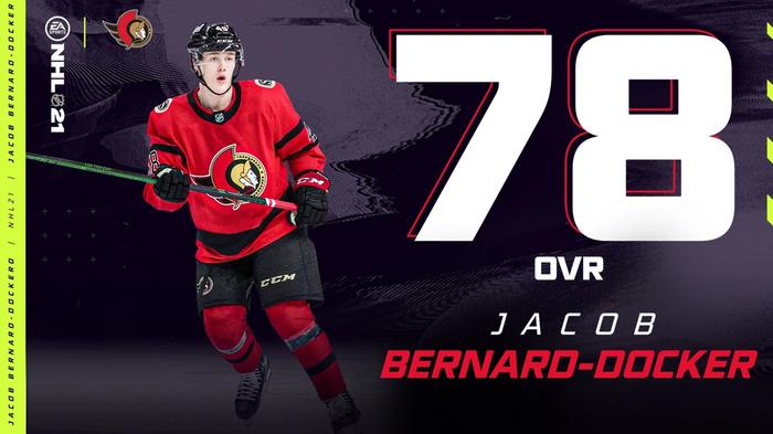 NHL 21 Jacob Bernard-Docker Roster Update May 5
