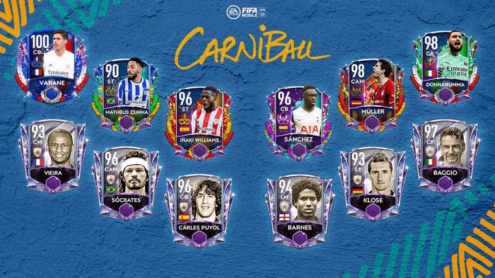 FIFA 21 Carniball Reveal EA Icons