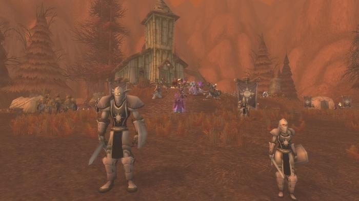 WoW Classic Scourge Invasion Naxx Light's Hope Chapel Eastern Plaguelands Quest Towers