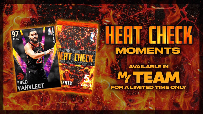 NBA 2K21 MyTEAM Heat Check Cards Limited Time Packs