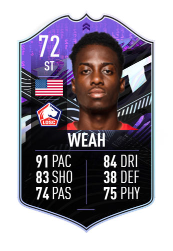 timothy weah fifa 21 ultimate team what if silver stars